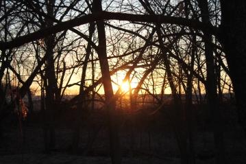 March 2014 sunrise